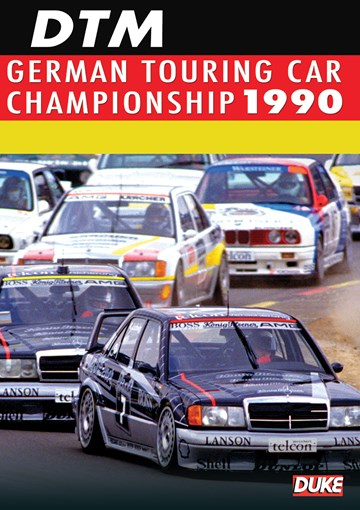 German Touring Car Championship 1990 Duke Archive DVD - click to enlarge