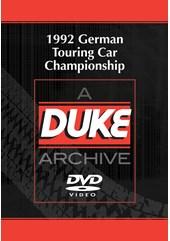 German Touring Car Championship 1992 Duke Archive DVD