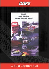 Spa 24 Hour Saloon Car Race 1988 Duke Archive DVD