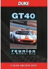 GT40 - Reunion At Watkins Glen Duke Archive DVD