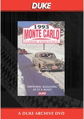 Monte Carlo Classic Challenge 1993 Duke Archive DVD
