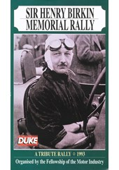 Henry Birkin Memorial Rally 1993 Duke Archive DVD