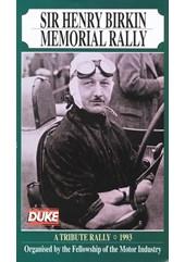 Henry Birkin Memorial Rally 1993 Duke Archive DVD