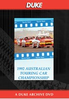 Australian Touring Car Review 1992 Duke Archive DVD