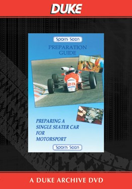 Preparing A Single Seater Duke Archive DVD