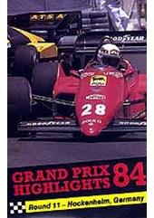 F1 GP84-Germany Pal VHS