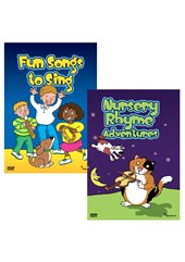 SPECIAL OFFER: Fun Songs to Sing DVD and Nursery Rhyme Adventures DVD