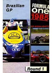 F1 1985 Brazilian GP VHS
