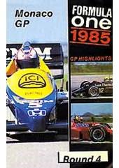 F1 1985 Monaco GP VHS