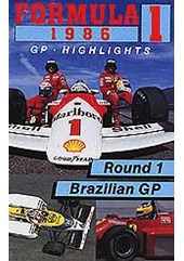 F1 1986 Brazilian GP VHS