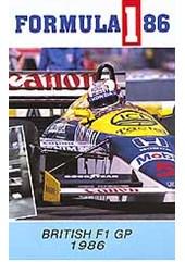 F1 1986 British GP VHS