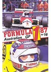F1 1987 Australian GP VHS