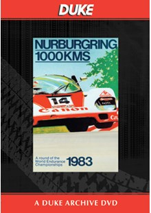 WSC 1983 1000km Nurburgring Duke Archive DVD