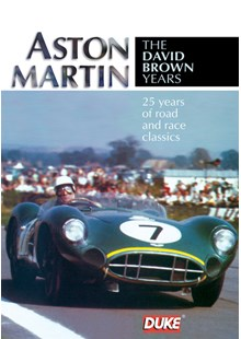 Aston Martin The David Brown Years DVD