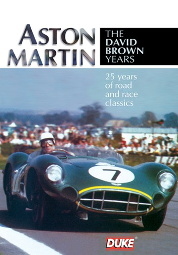 Aston Martin The David Brown Years DVD - click to enlarge