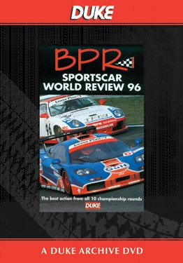 World Sportscar BPR Review 1996 Duke Archive DVD - click to enlarge