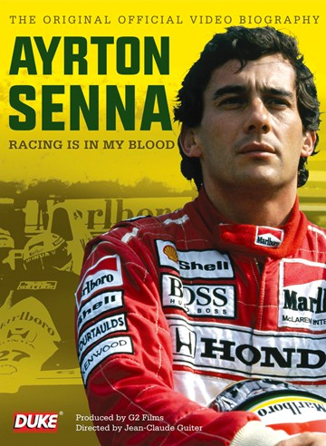 Ayrton Senna Racing is in My Blood DVD - click to enlarge