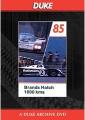 WSC 1985 1000km Brands Hatch Duke Archive DVD