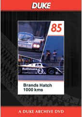 WSC 1985 1000km Brands Hatch Duke Archive DVD