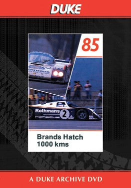 WSC 1985 1000km Brands Hatch Duke Archive DVD - click to enlarge