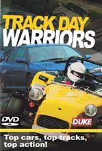 Track Day Warriors NTSC DVD
