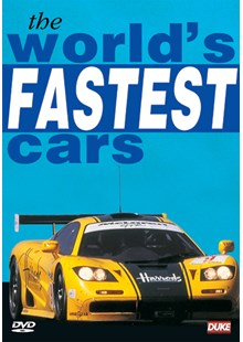 Worlds Fastest Cars DVD
