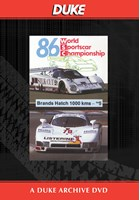WSC 1986 1000km Brands Hatch Duke Archive DVD