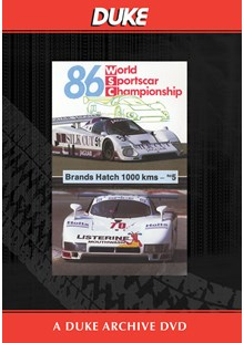 WSC 1986 1000km Brands Hatch Duke Archive DVD