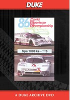 WSC 1986 1000km Spa Duke Archive DVD