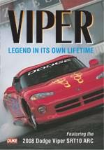 Dodge Viper 2008 Edition NTSC DVD