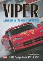 Dodge Viper 2008 Edition NTSC DVD