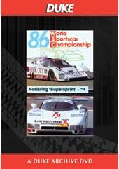 Norisring Sprint Race 1986 Duke Archive DVD