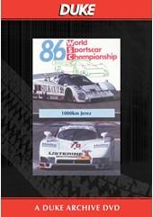 WSC 1986 1000km Jerez Duke Archive DVD