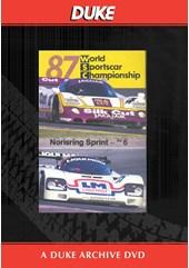 WSC 1987 Norisring Sprint Duke Archive DVD