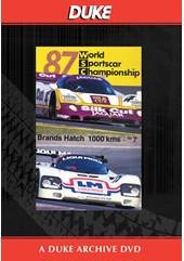 WSC 1987 1000km Brands Hatch Duke Archive DVD