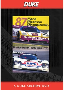 WSC 1987 1000km Brands Hatch Duke Archive DVD