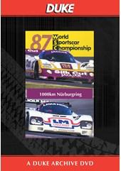 WSC 1987 1000km Nurburgring Duke Archive DVD