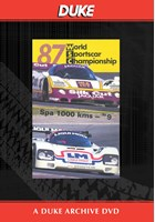 WSC 1987 1000km Spa Duke Archive DVD