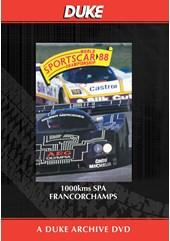 WSC 1988 1000km Spa Francorchamps Duke Archive DVD