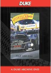 WSC 1988 1000km Fuji Duke Archive DVD