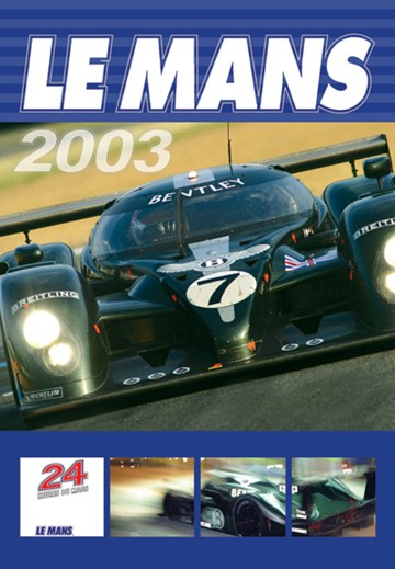 Le Mans 2003 DVD - click to enlarge