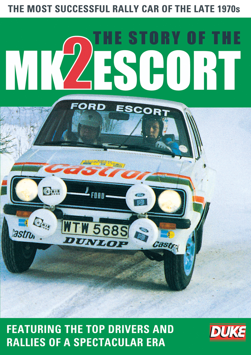 The Story of the Mk 2 Escort DVD : Duke Video
