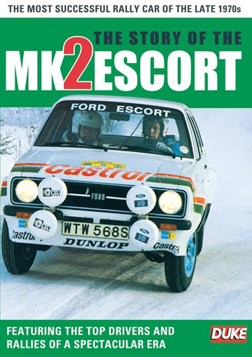 The Story of the Mk 2 Escort DVD - click to enlarge
