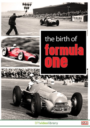 The Birth of Formula One DVD - click to enlarge