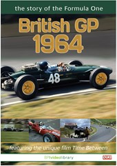The Story of the Formula One British Grand Prix 1964 DVD