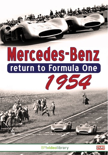 Mercedes Benz Return to Formula One 1954 DVD - click to enlarge