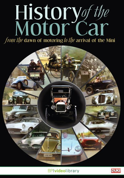 The History of the Motor Car - From the Dawn of Motoring to the Mini DVD