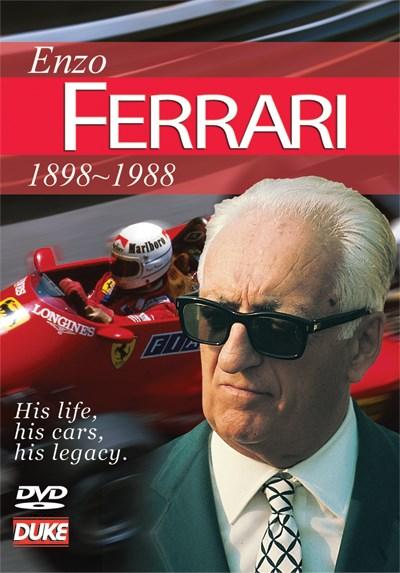 Enzo Ferrari Story NTSC DVD