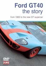 Ford GT Story NTSC DVD