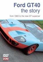 Ford GT Story NTSC DVD
